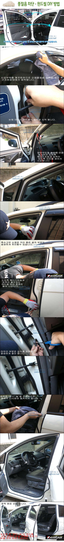 풍절음, 자동차방음, 자동차용품