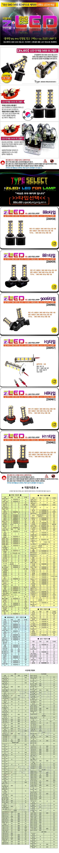ZiB2B, ZiLED LED 안개등 - 5450 포그램프